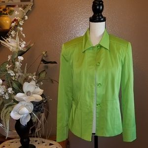 LIME GREEN JACKET AWESOME
